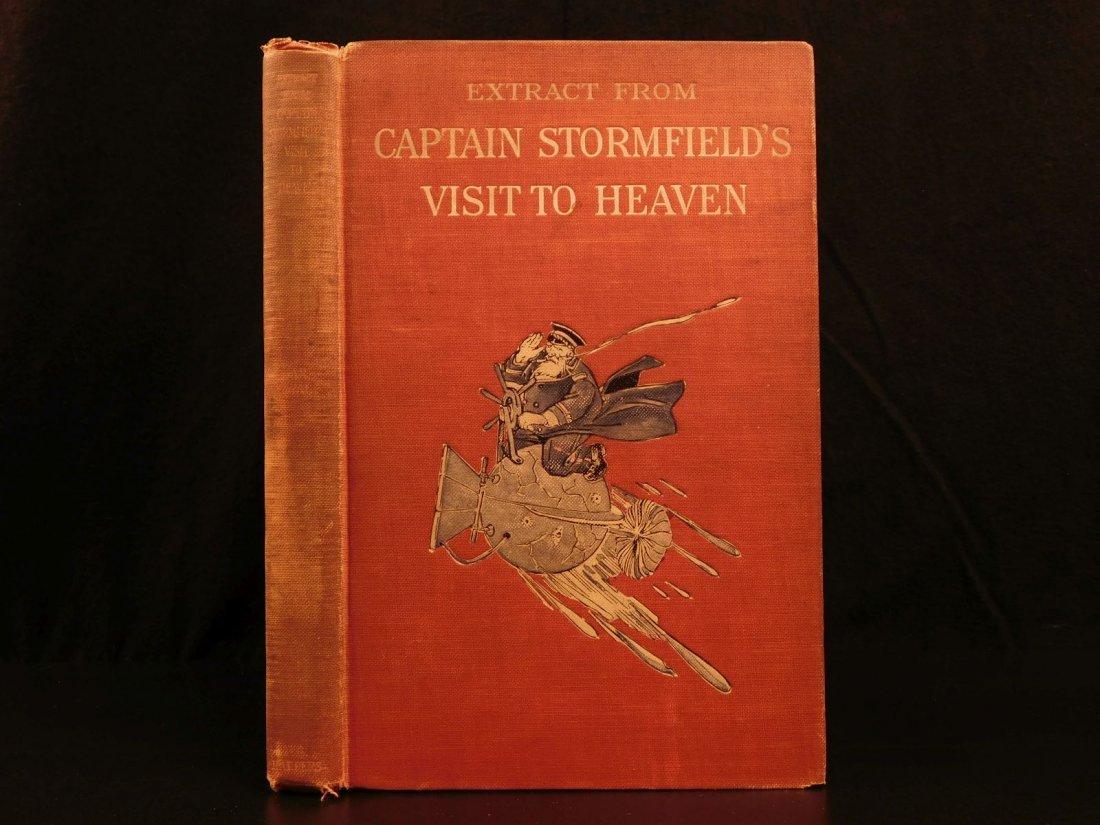 1909 1st ed Captain Stormfield's Visit to Heaven TWAIN