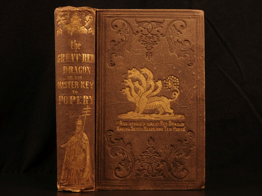 1854 Red Dragon Purgatory Inquisitions Excommunication