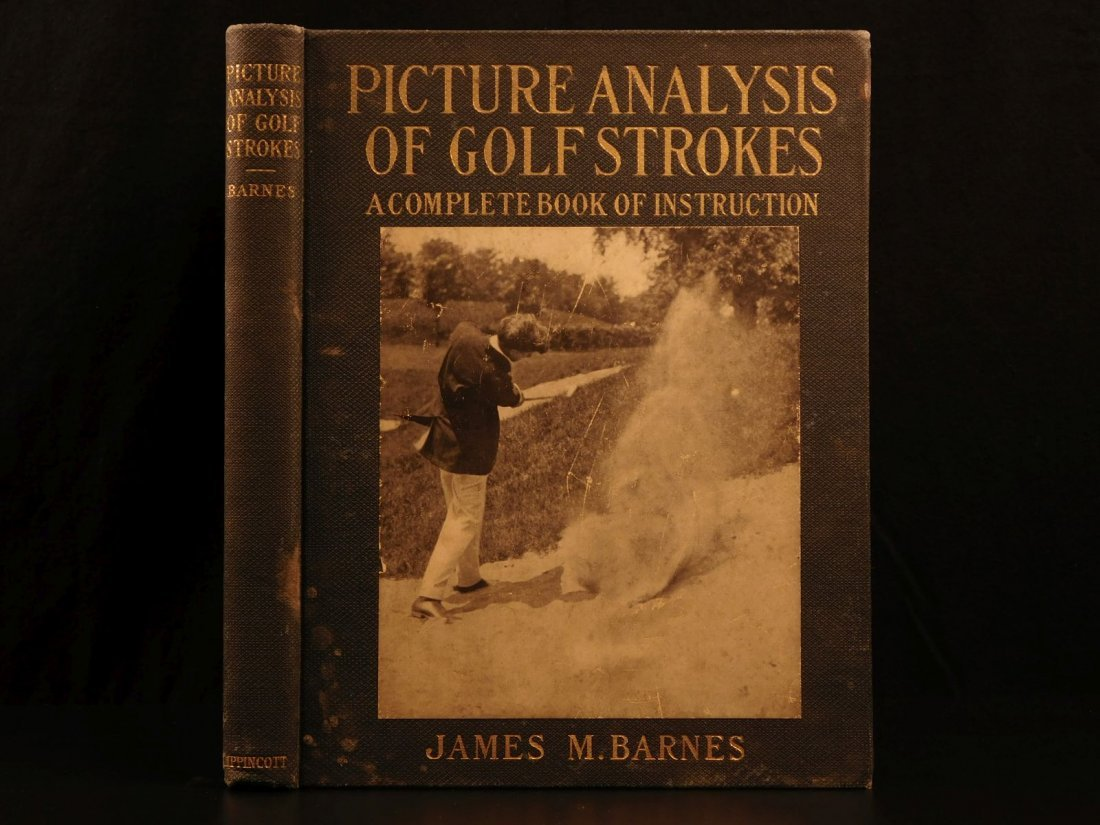 1919 Pictures GOLF Strokes Sports Barnes Illustrated