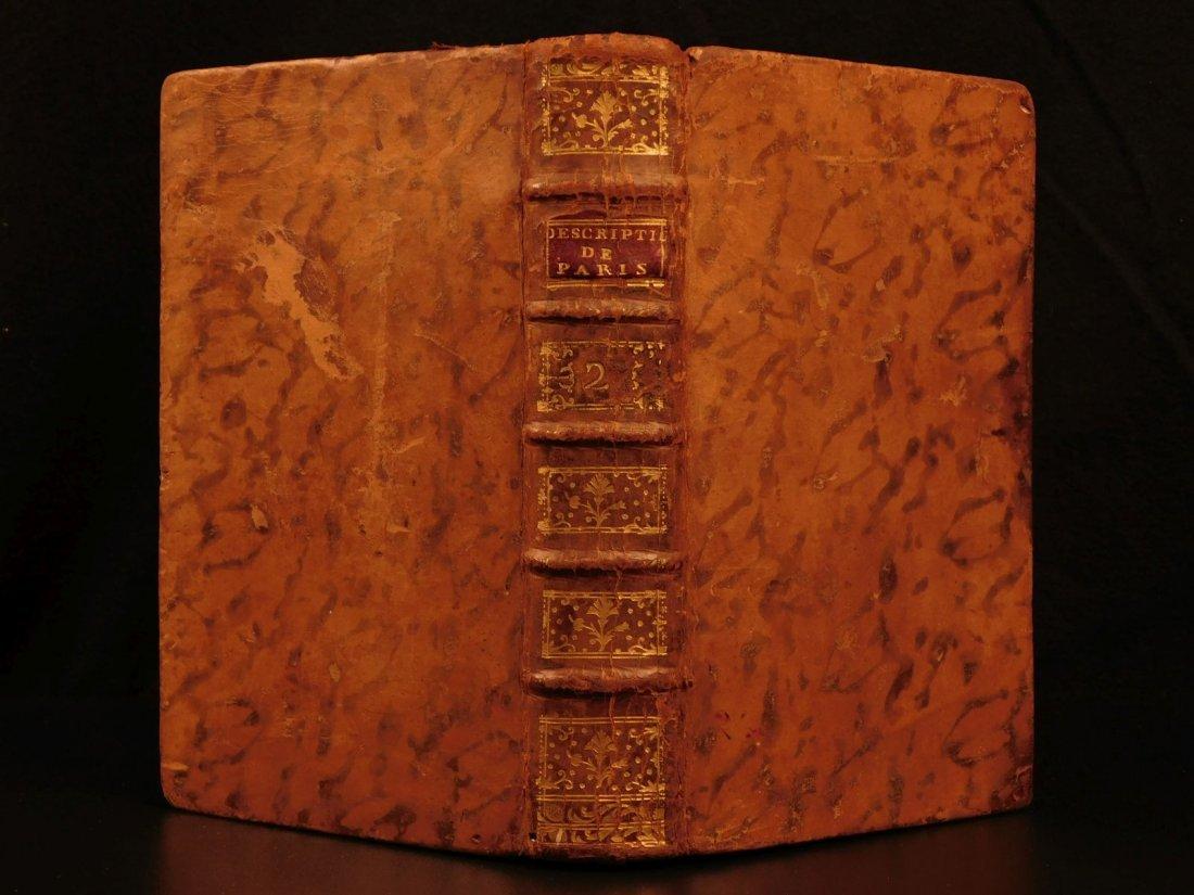 1752 Description of Paris Germaine Brice Illustrated