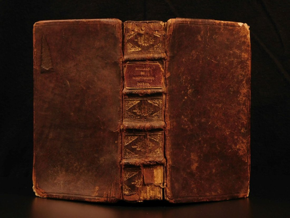 1678 Bellarmine of Galileo Trial Scriptoribus Catholic
