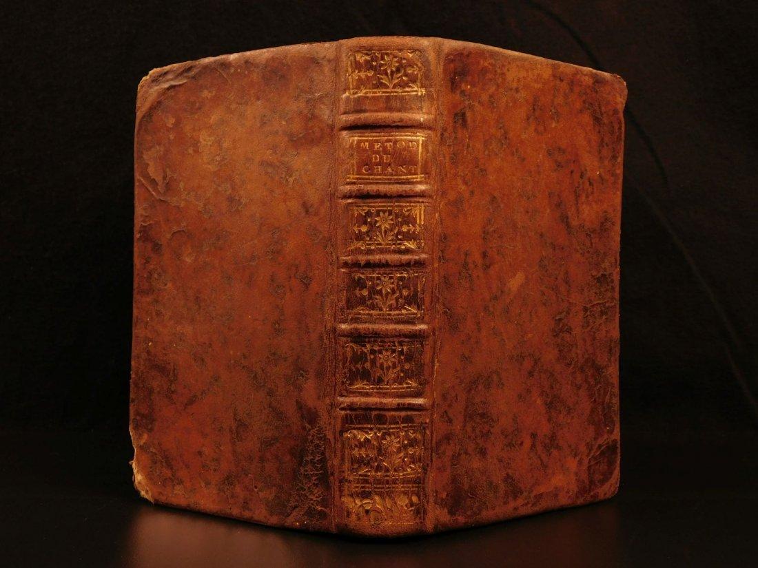 1775 Plainchant MUSIC Theory Catholic Chant Rules