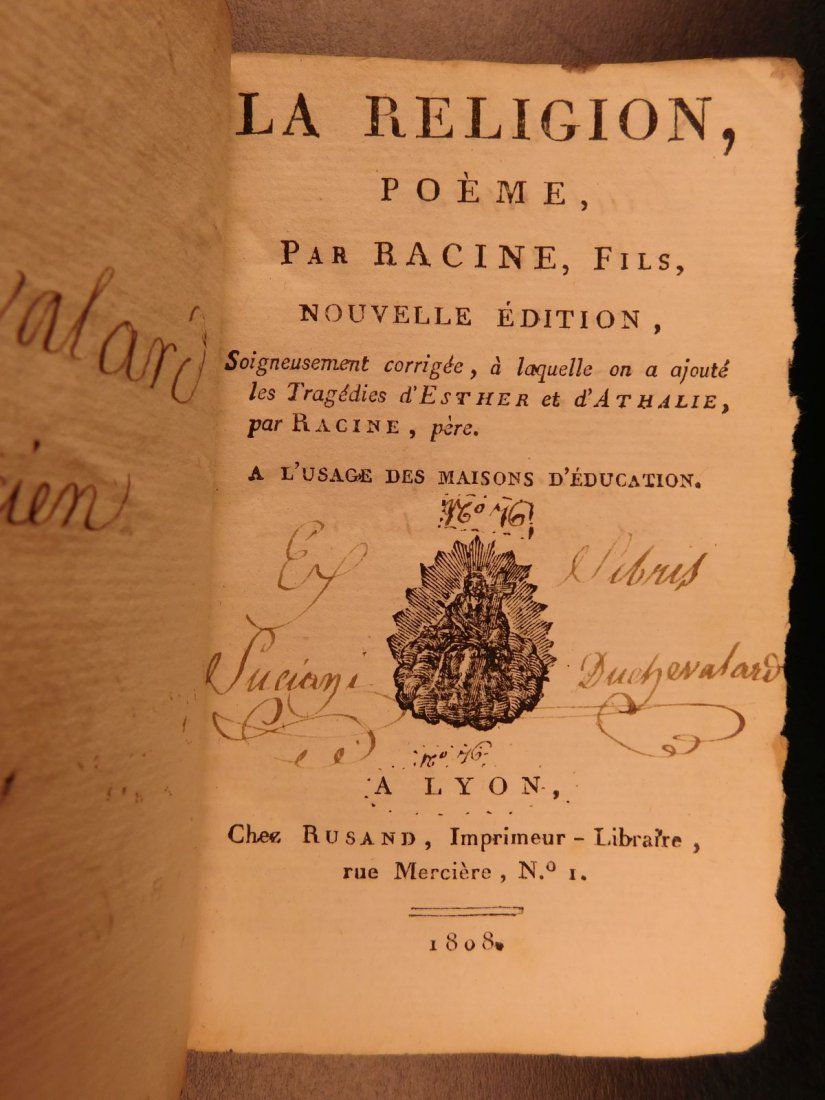 1675 8 Rare Book Lot Machiavelli Livy Jean Racine - 10