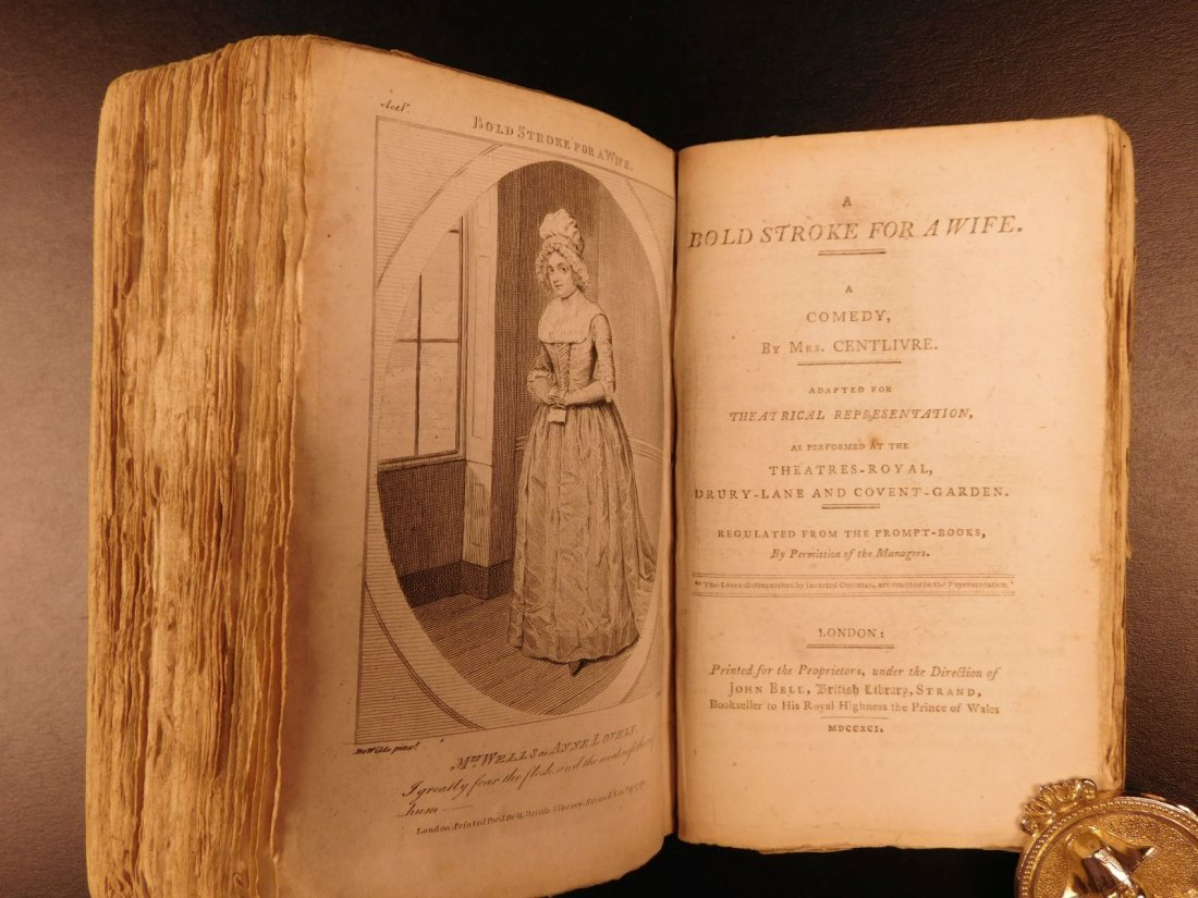 1792 1ed John Bell's British Theatre Illustrated - 10