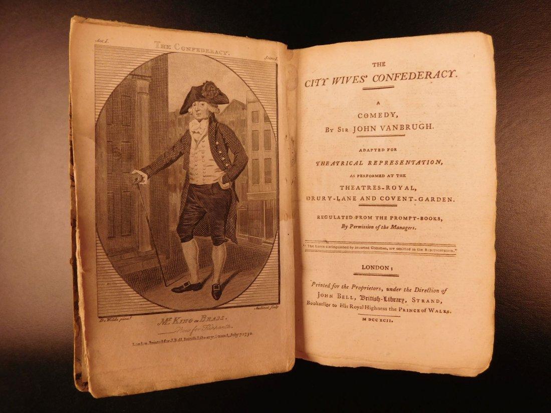 1792 1ed John Bell's British Theatre Illustrated - 3