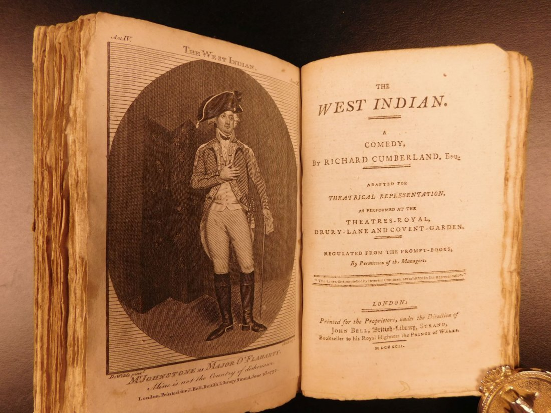 1792 1ed John Bell's British Theatre Illustrated - 7