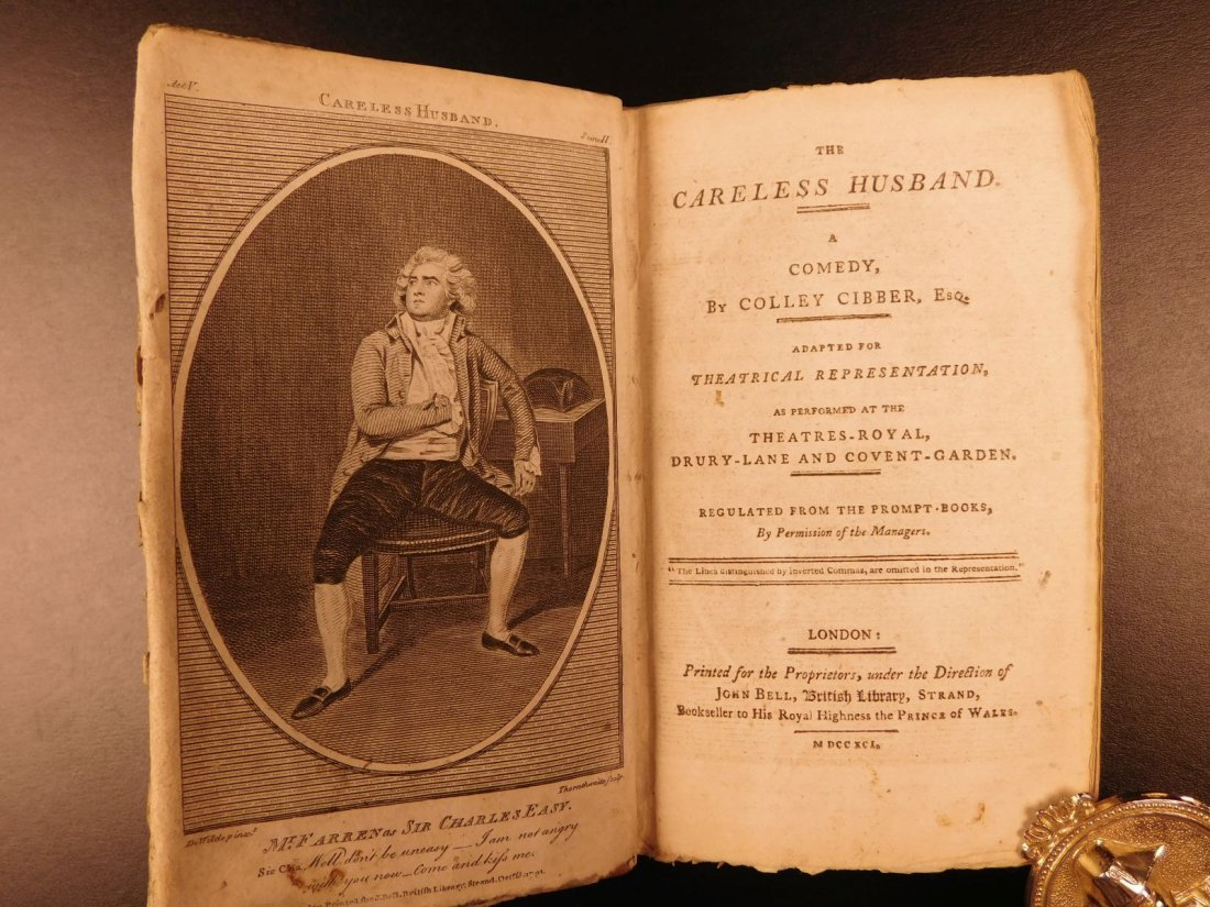 1792 1ed John Bell's British Theatre Illustrated - 8