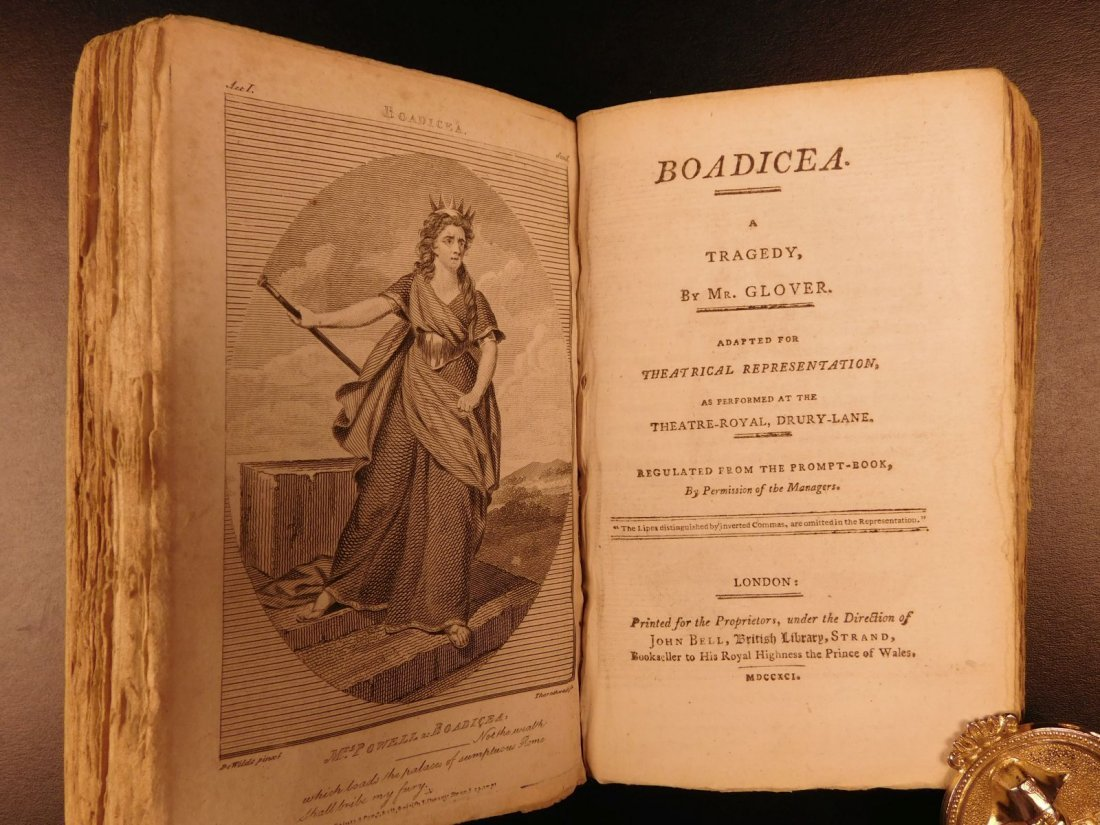 1792 1ed John Bell's British Theatre Illustrated - 9