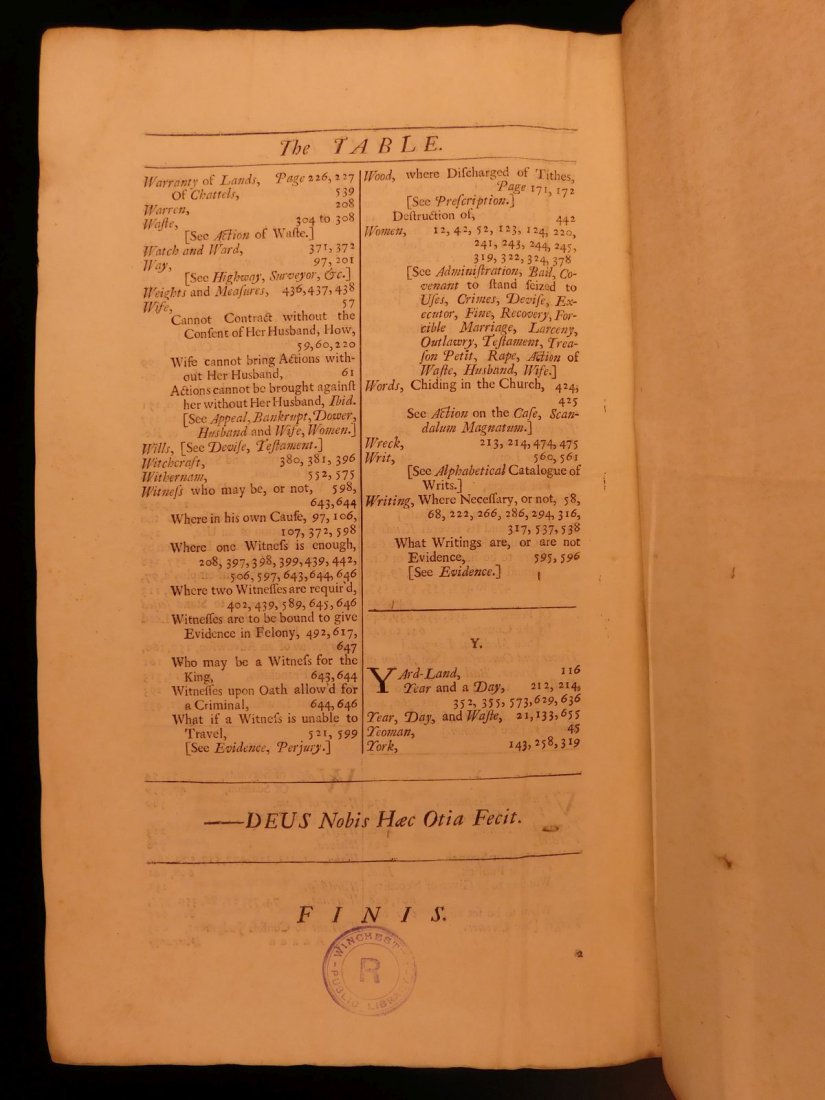 1734 Institute of Laws of England Parliament LAW Crimes - 10