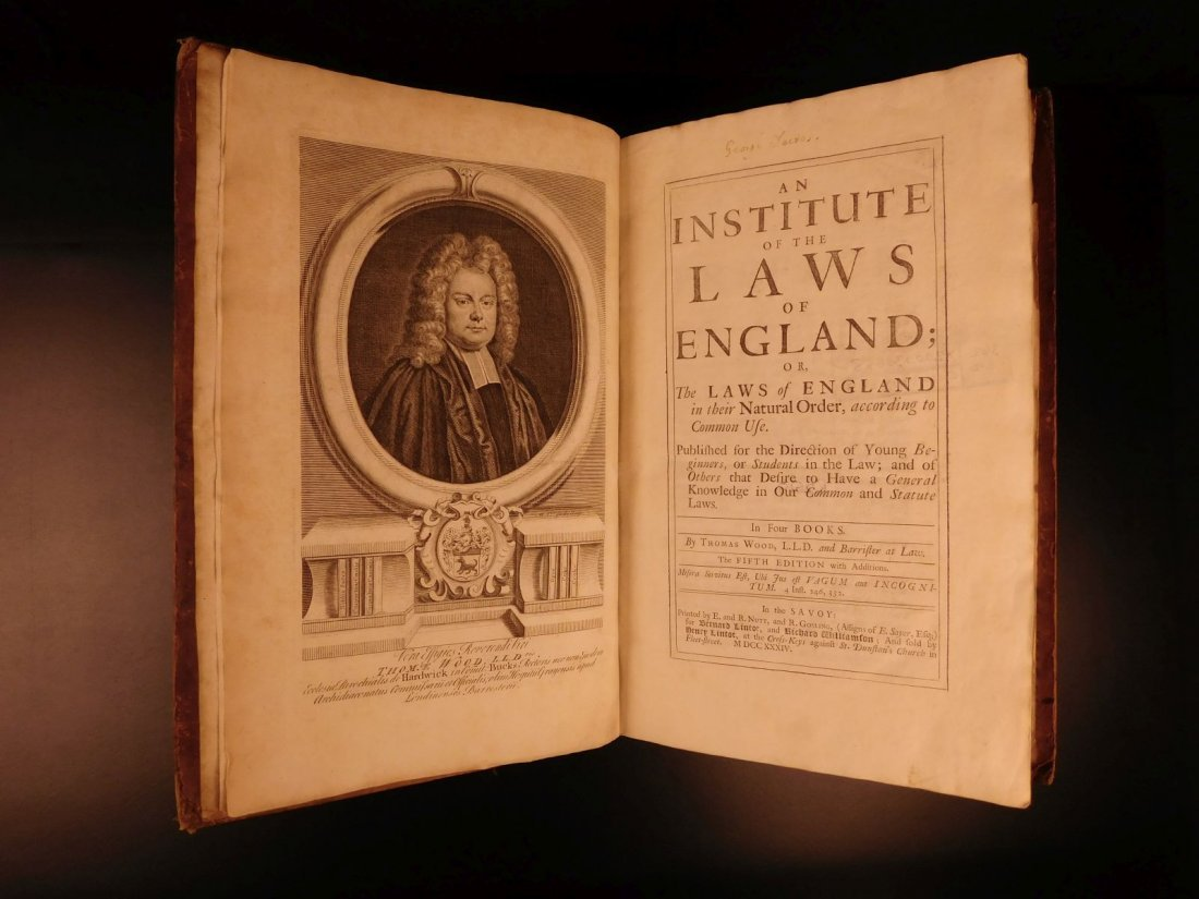 1734 Institute of Laws of England Parliament LAW Crimes - 5