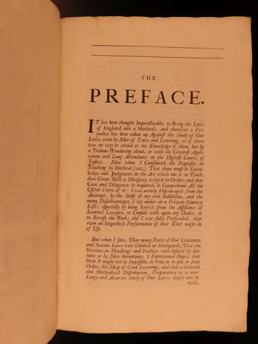 1734 Institute of Laws of England Parliament LAW Crimes - 6