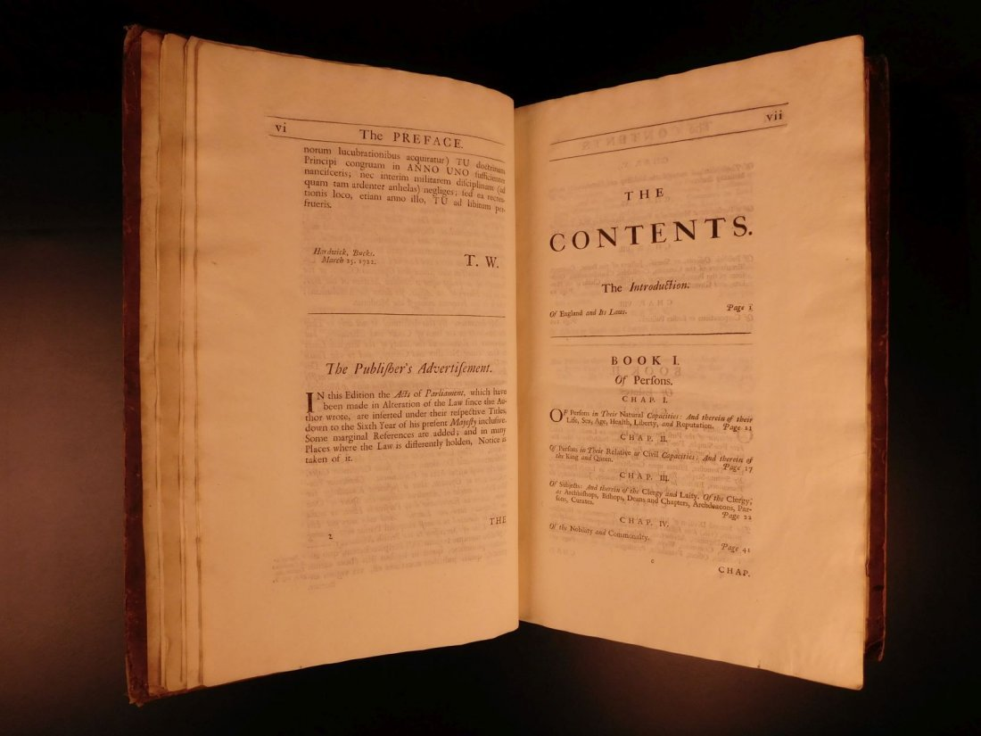 1734 Institute of Laws of England Parliament LAW Crimes - 7