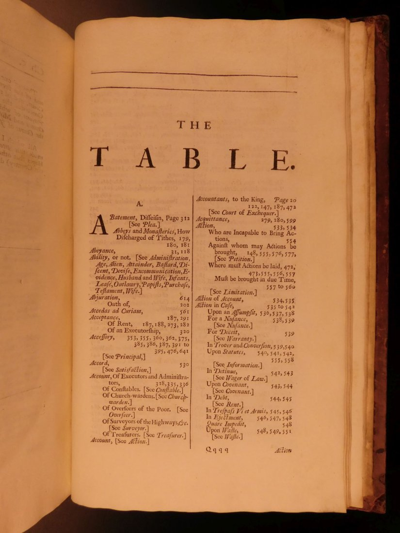 1734 Institute of Laws of England Parliament LAW Crimes - 9