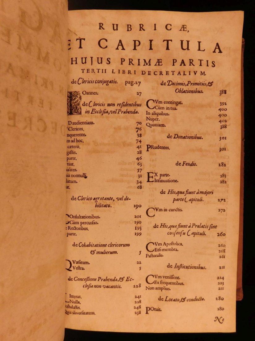1681 HUGE FOLIO Prospero Fagnani LAW Pope Gregory IX - 7