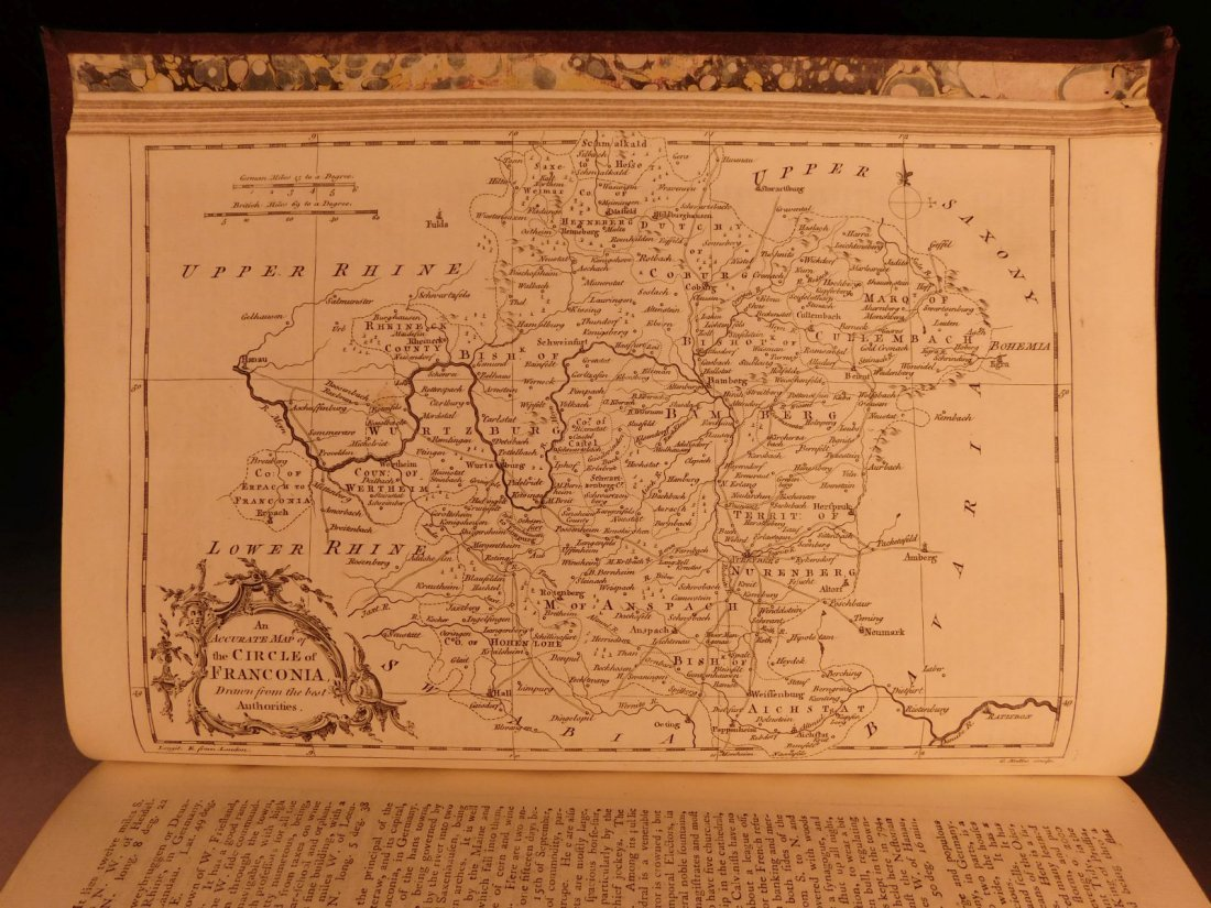 1759 Barrow Geography Dictionary ATLAS MAPS Syria - 10