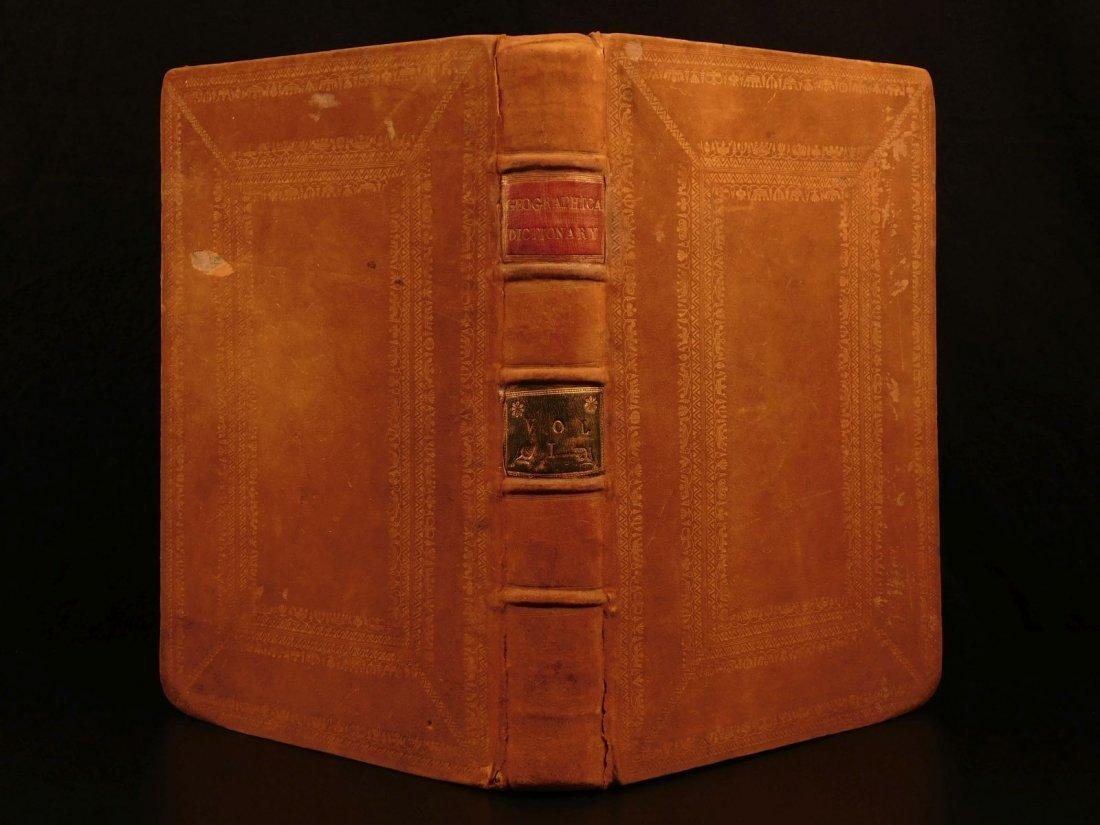 1759 Barrow Geography Dictionary ATLAS MAPS Syria