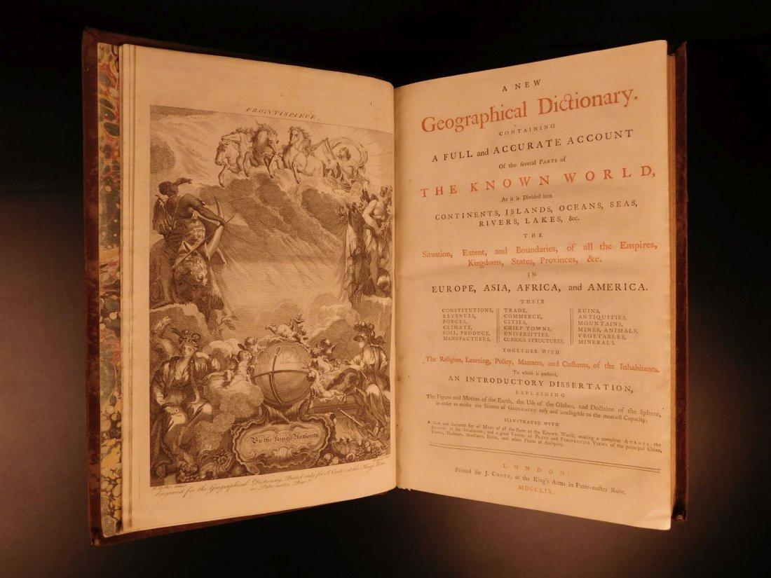 1759 Barrow Geography Dictionary ATLAS MAPS Syria - 3