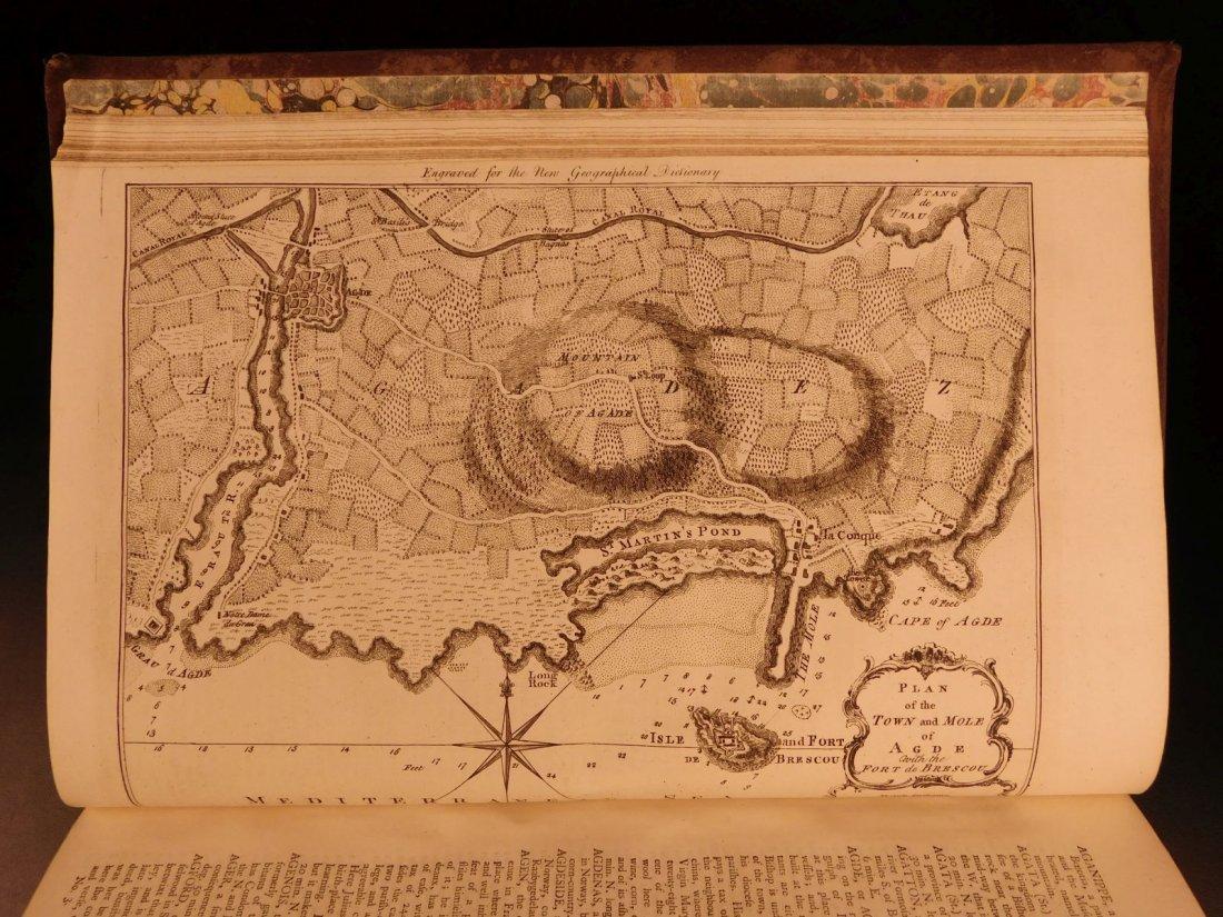 1759 Barrow Geography Dictionary ATLAS MAPS Syria - 5