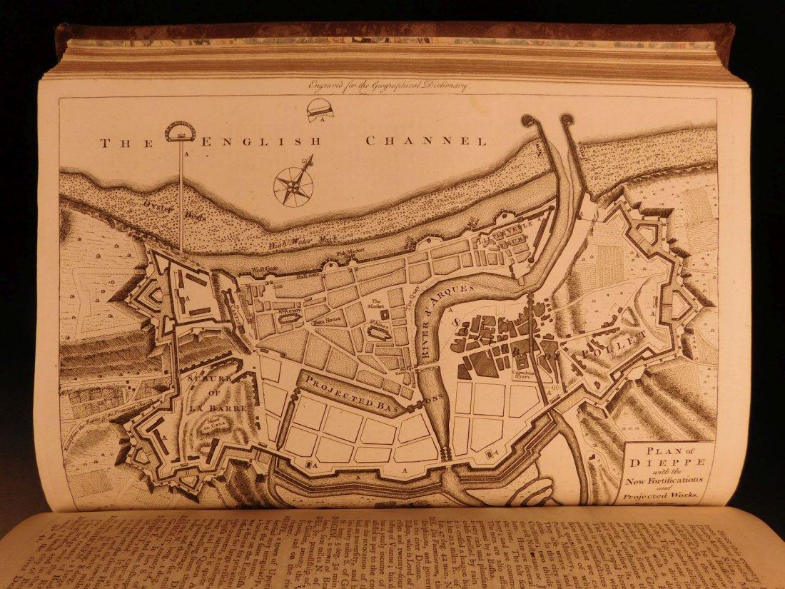 1759 Barrow Geography Dictionary ATLAS MAPS Syria - 8