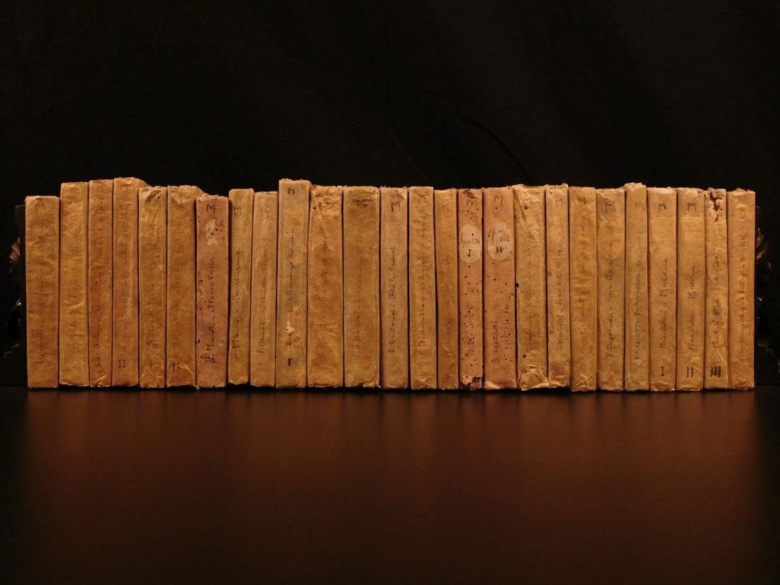1860 Handwritten Manuscripts Italian Books History