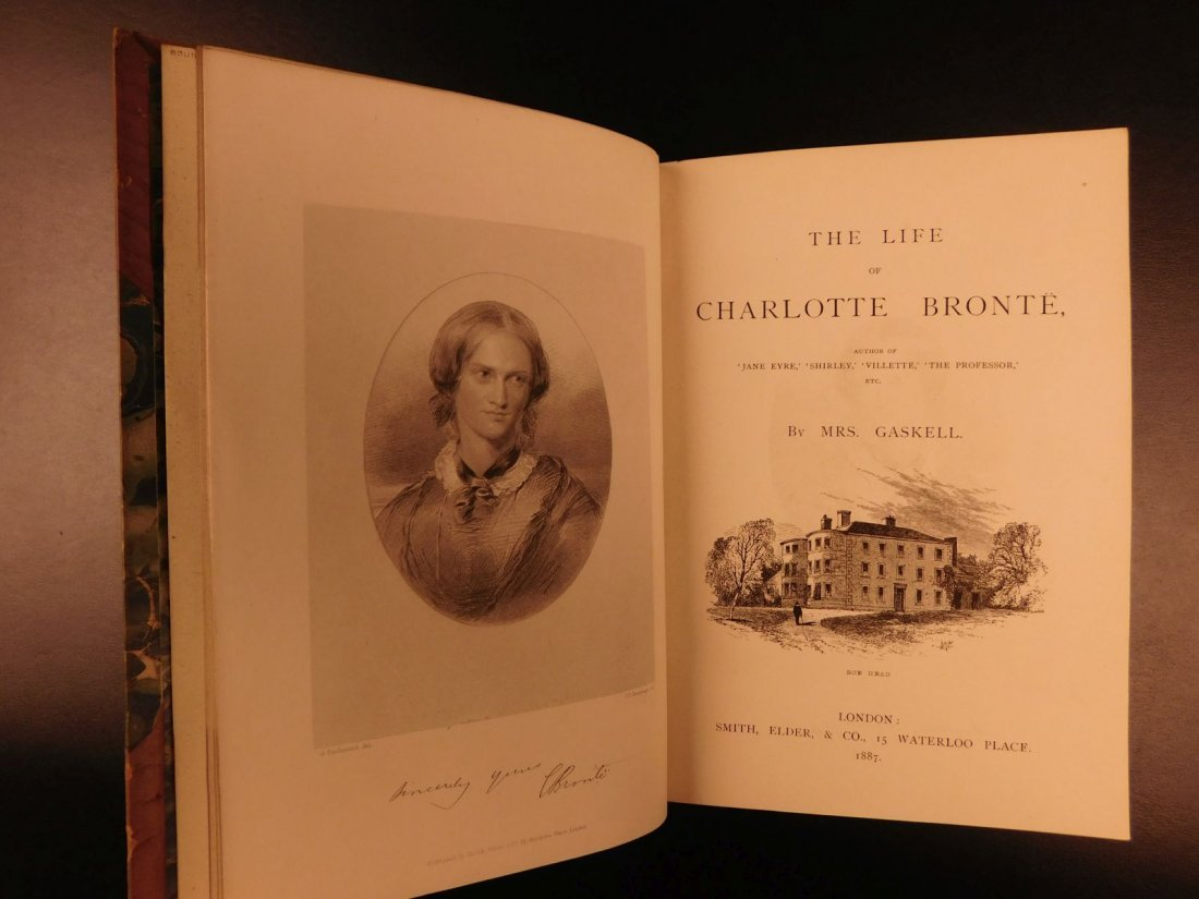 1887 BRONTE Novels Jane Eyre Wuthering Heights Shirley - 10