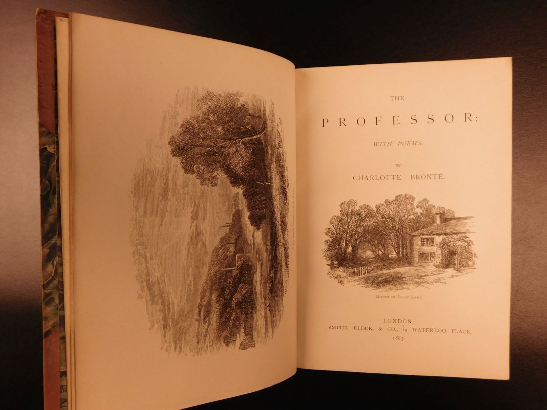 1887 BRONTE Novels Jane Eyre Wuthering Heights Shirley - 7