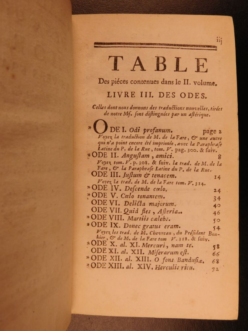 1752 Works of Horace ROMAN Literature Poetry Odes Rome - 7