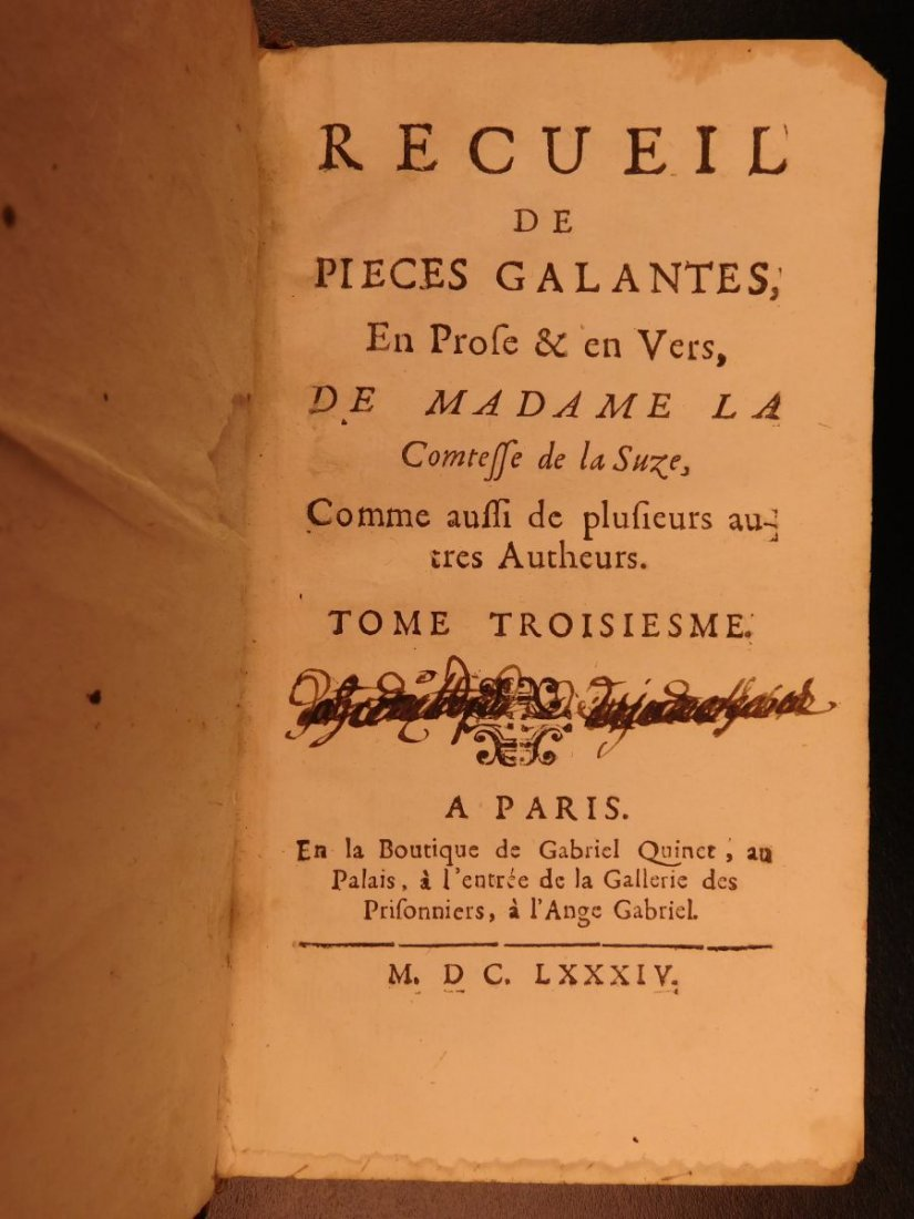 1674 Music Opera & French Poetry Henriette la Suze - 7