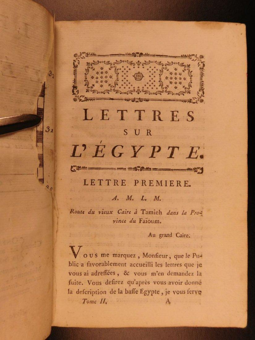 1785 1ed Savary Letters on EGYPT Pagan Mythology - 10