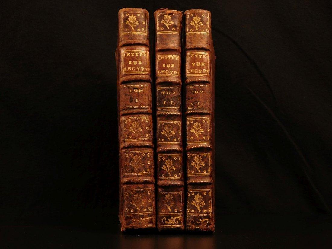 1785 1ed Savary Letters on EGYPT Pagan Mythology