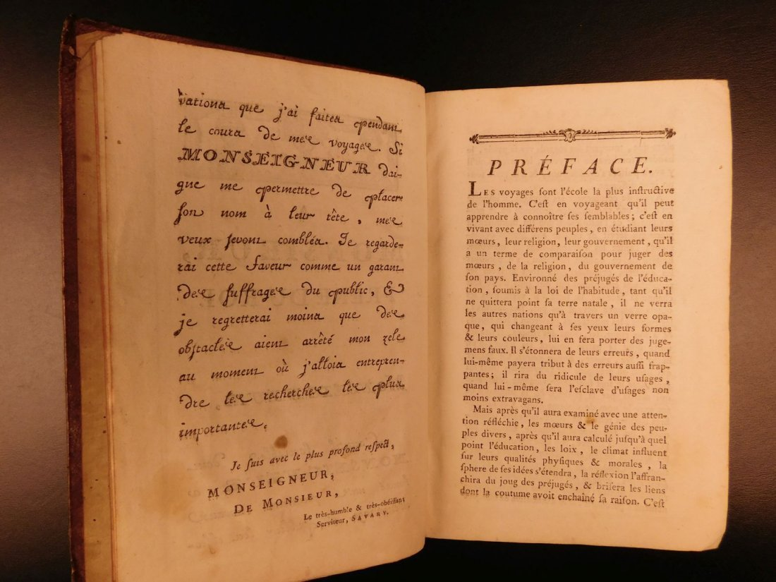 1785 1ed Savary Letters on EGYPT Pagan Mythology - 5
