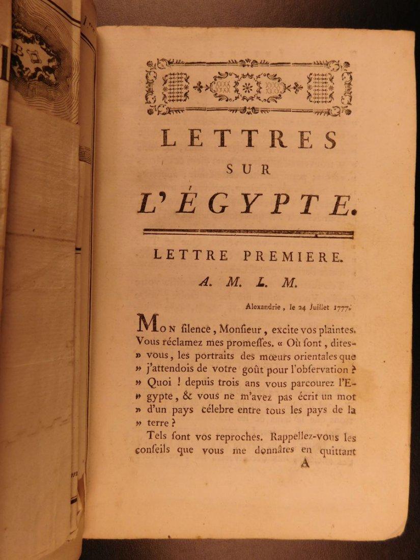 1785 1ed Savary Letters on EGYPT Pagan Mythology - 7