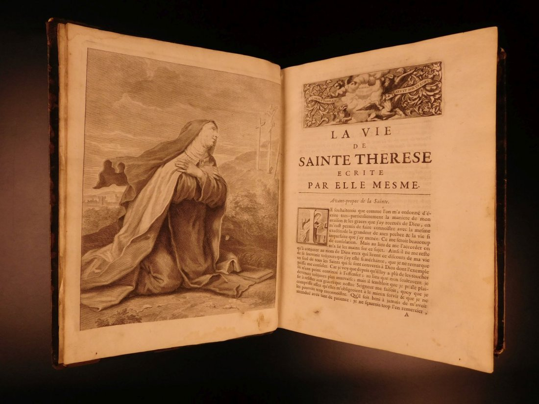 1696 Catholic Saint Teresa of Avila Mysticism - 6
