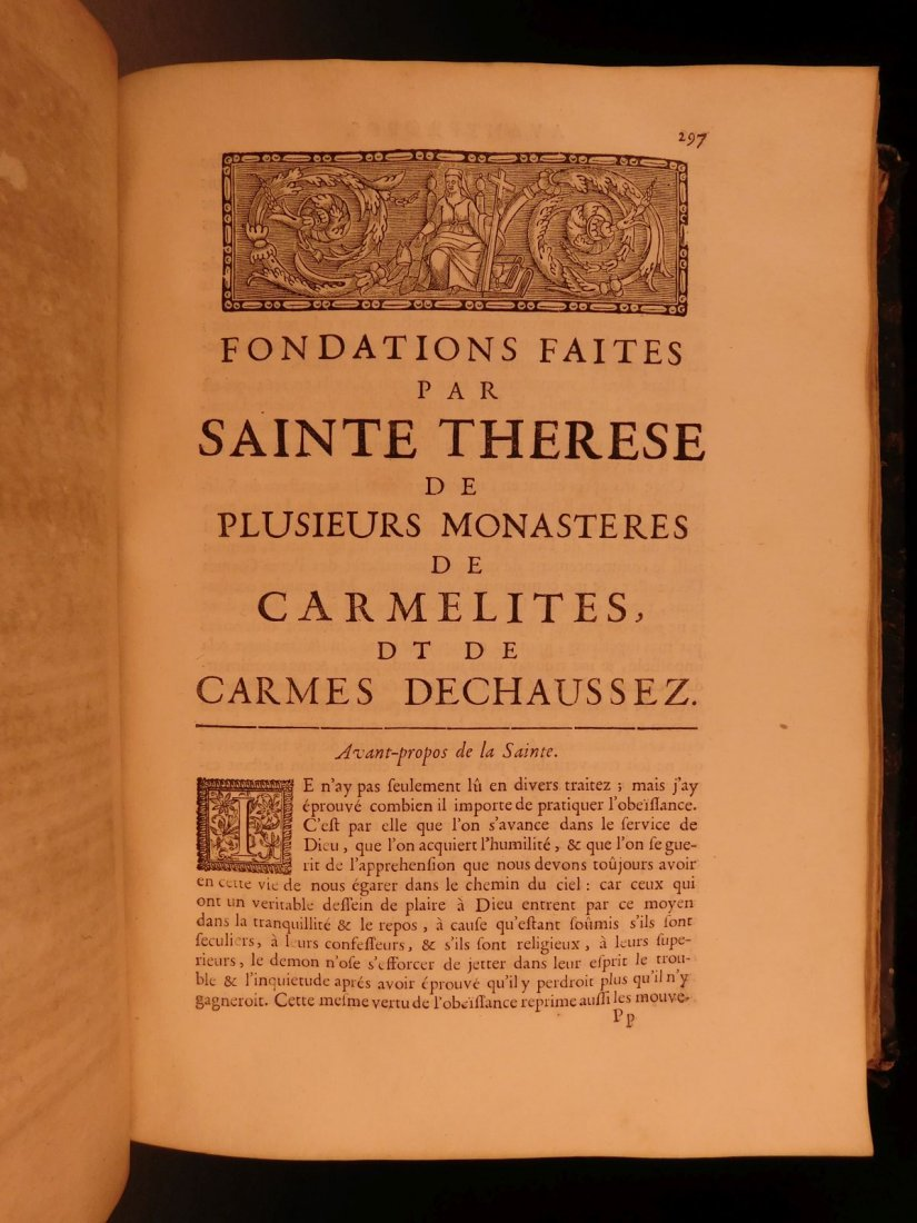 1696 Catholic Saint Teresa of Avila Mysticism - 7