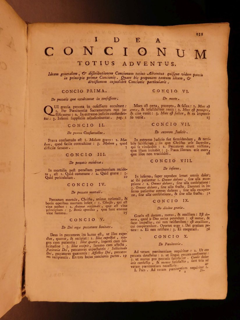 1759 Zacharie Laselve Sermons Annus Apostolicus Advent - 4
