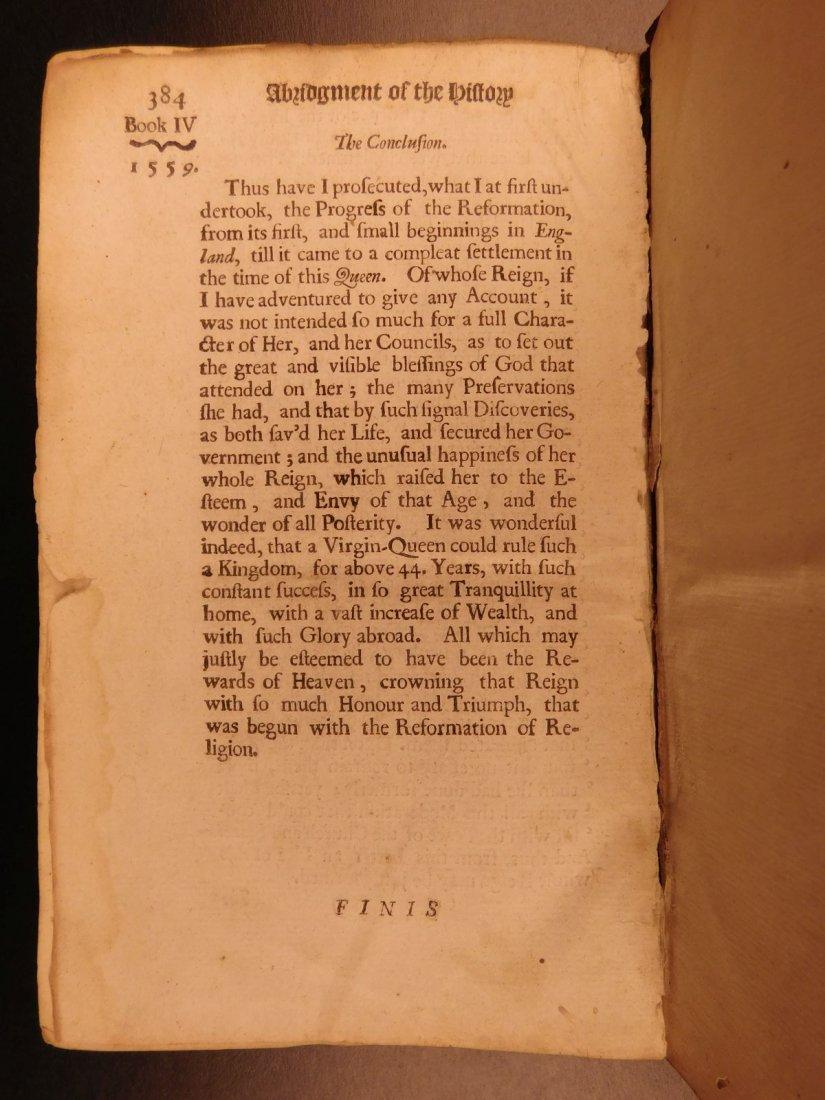 1683 English Reformation Elizabeth I Queen Mary - 10