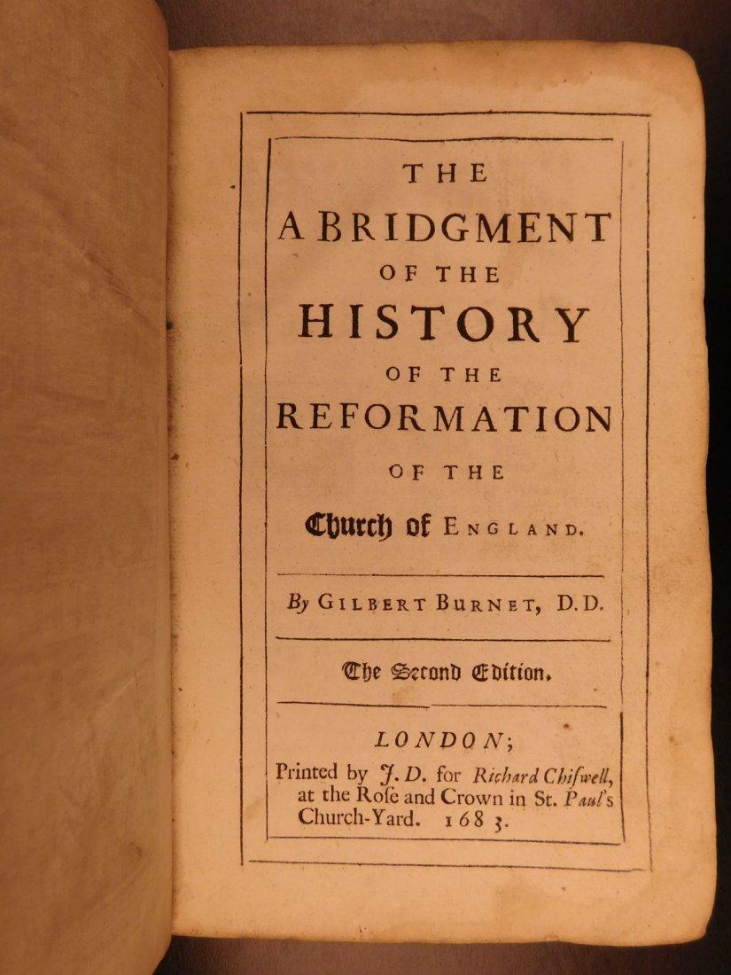 1683 English Reformation Elizabeth I Queen Mary - 3