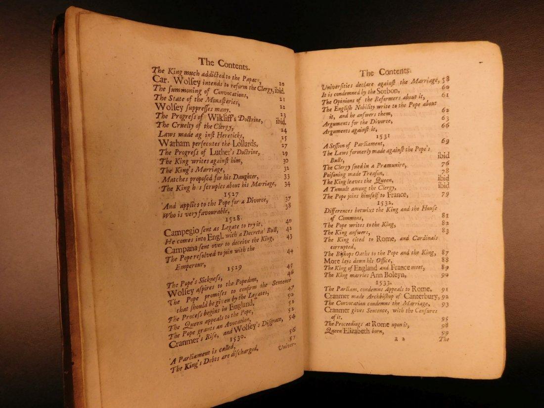 1683 English Reformation Elizabeth I Queen Mary - 6