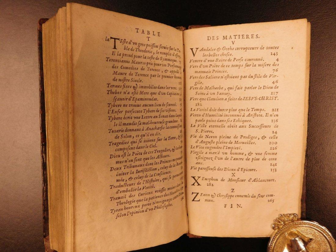 1661 Guez de Balzac Christian Socrates Essays & Letters - 10