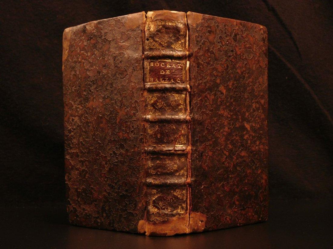 1661 Guez de Balzac Christian Socrates Essays & Letters