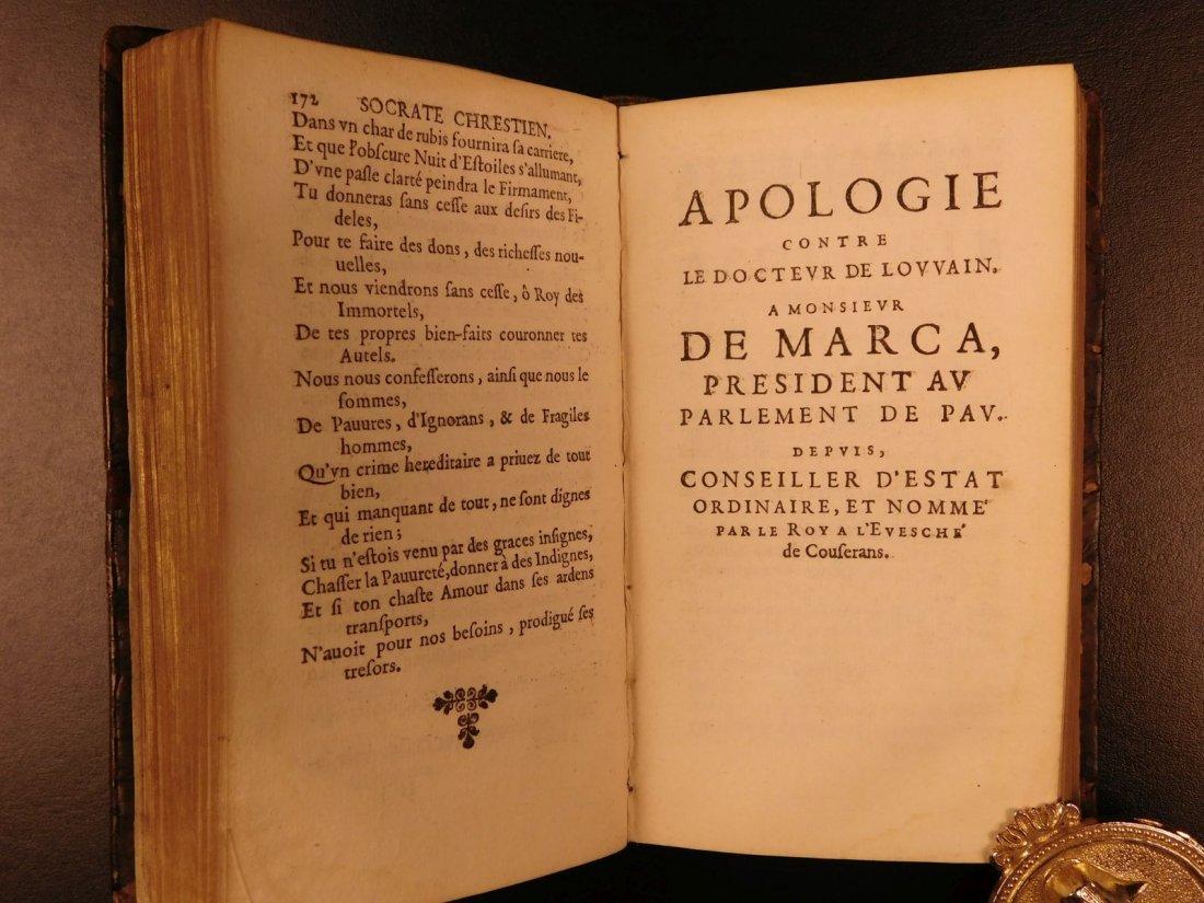1661 Guez de Balzac Christian Socrates Essays & Letters - 8