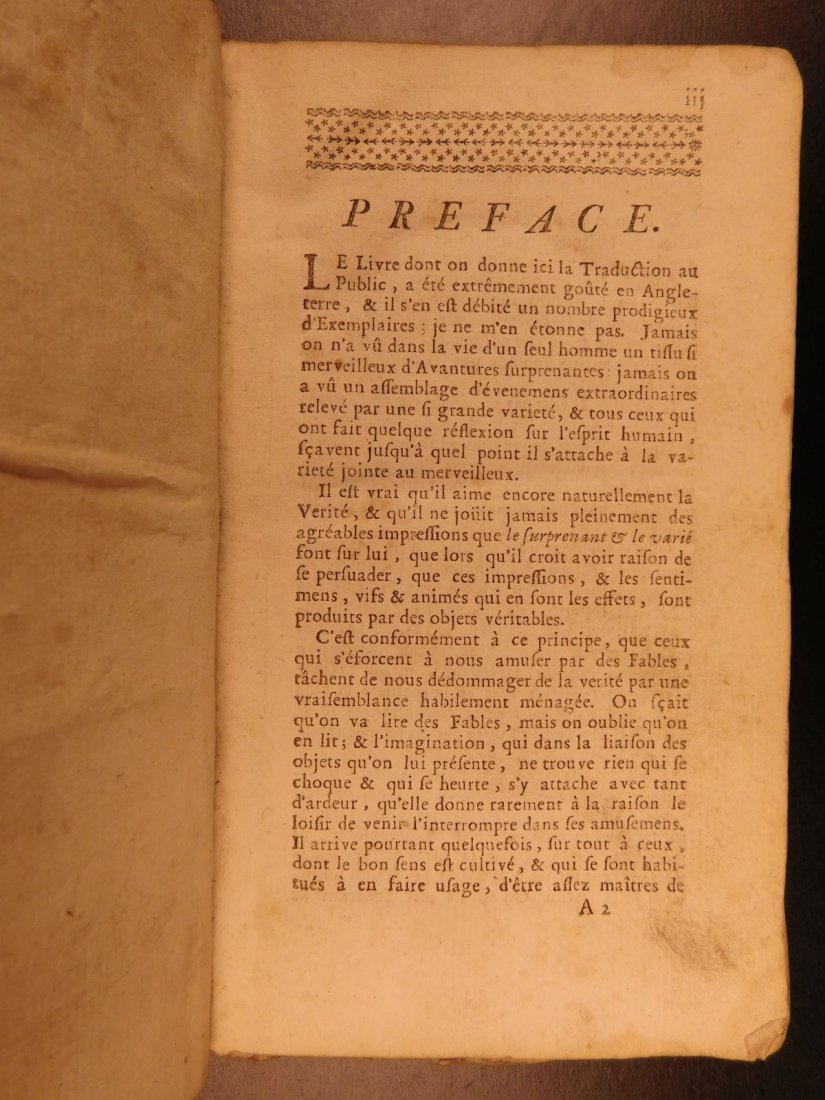 1749 Robinson Crusoe Daniel Defoe Voyages - 4