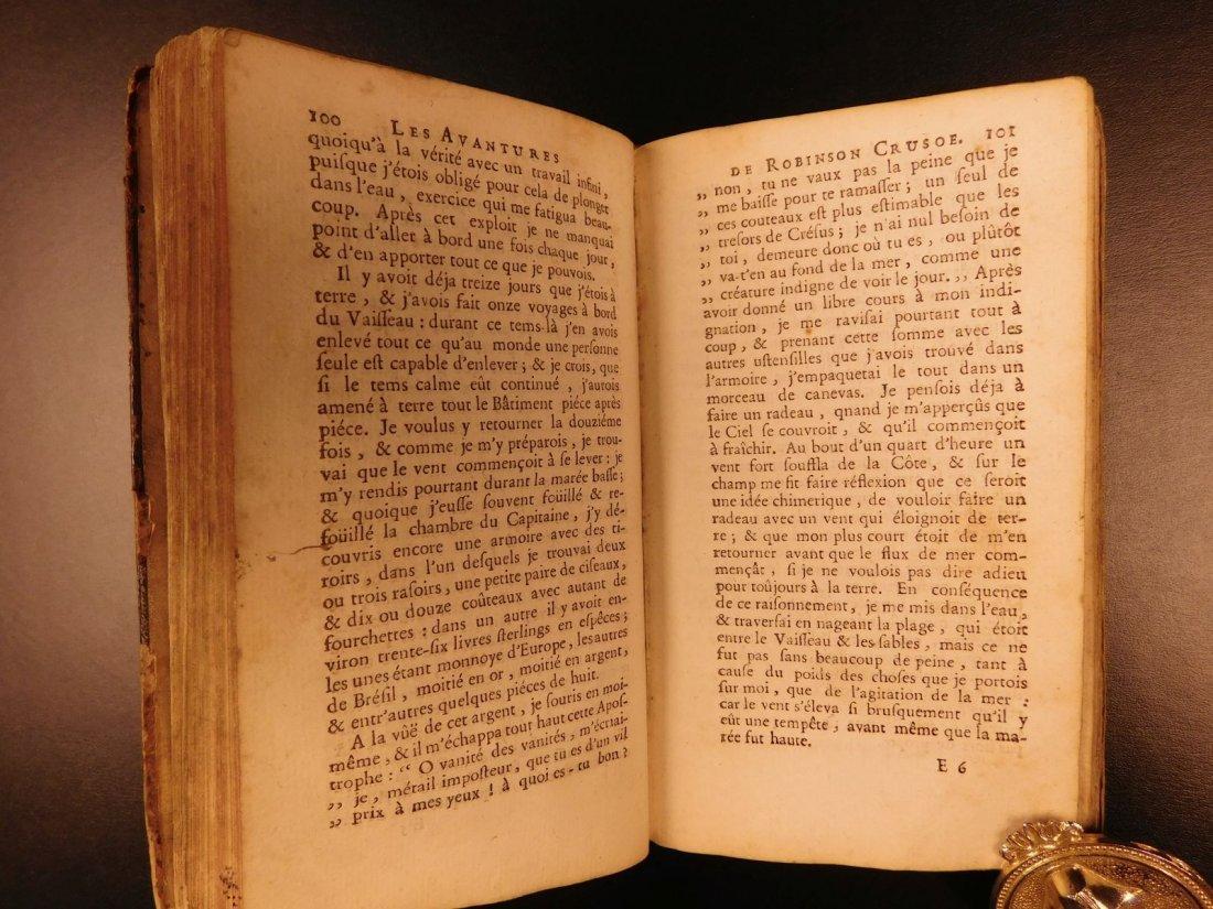 1749 Robinson Crusoe Daniel Defoe Voyages - 6
