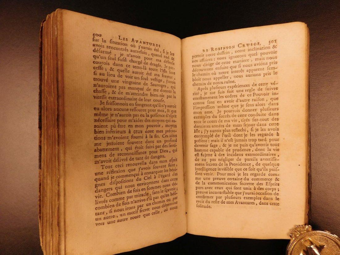 1749 Robinson Crusoe Daniel Defoe Voyages - 7