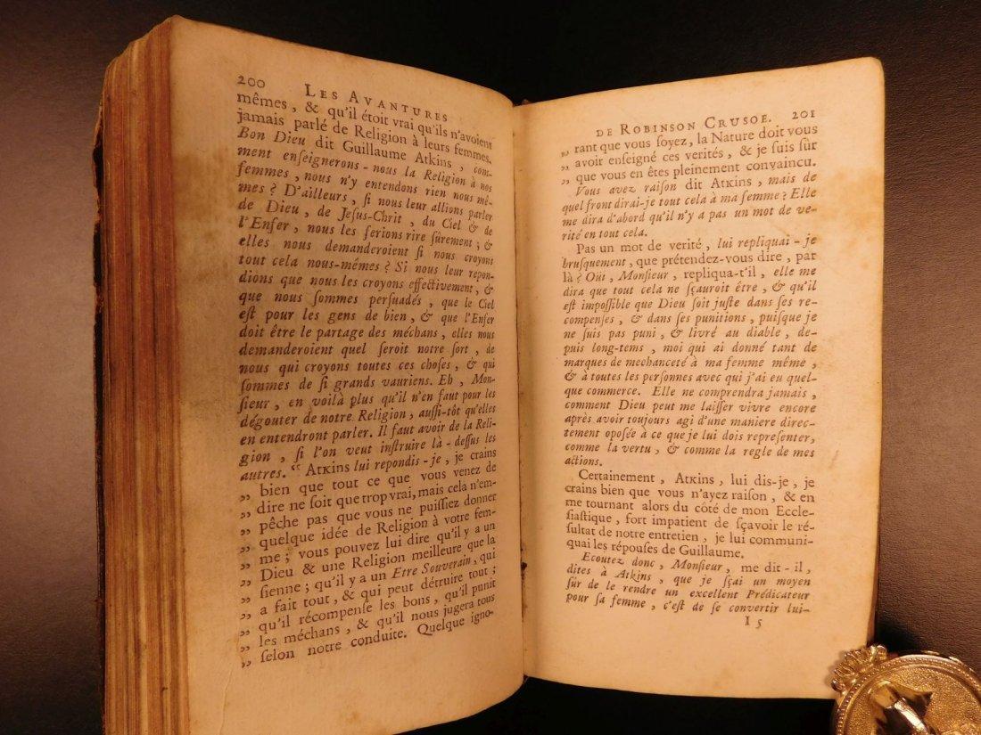 1749 Robinson Crusoe Daniel Defoe Voyages - 9