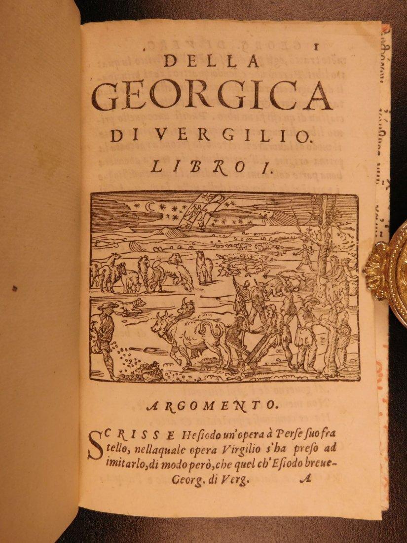1562 VIRGIL Georgics Mythology Pastoral Poems Latin - 4