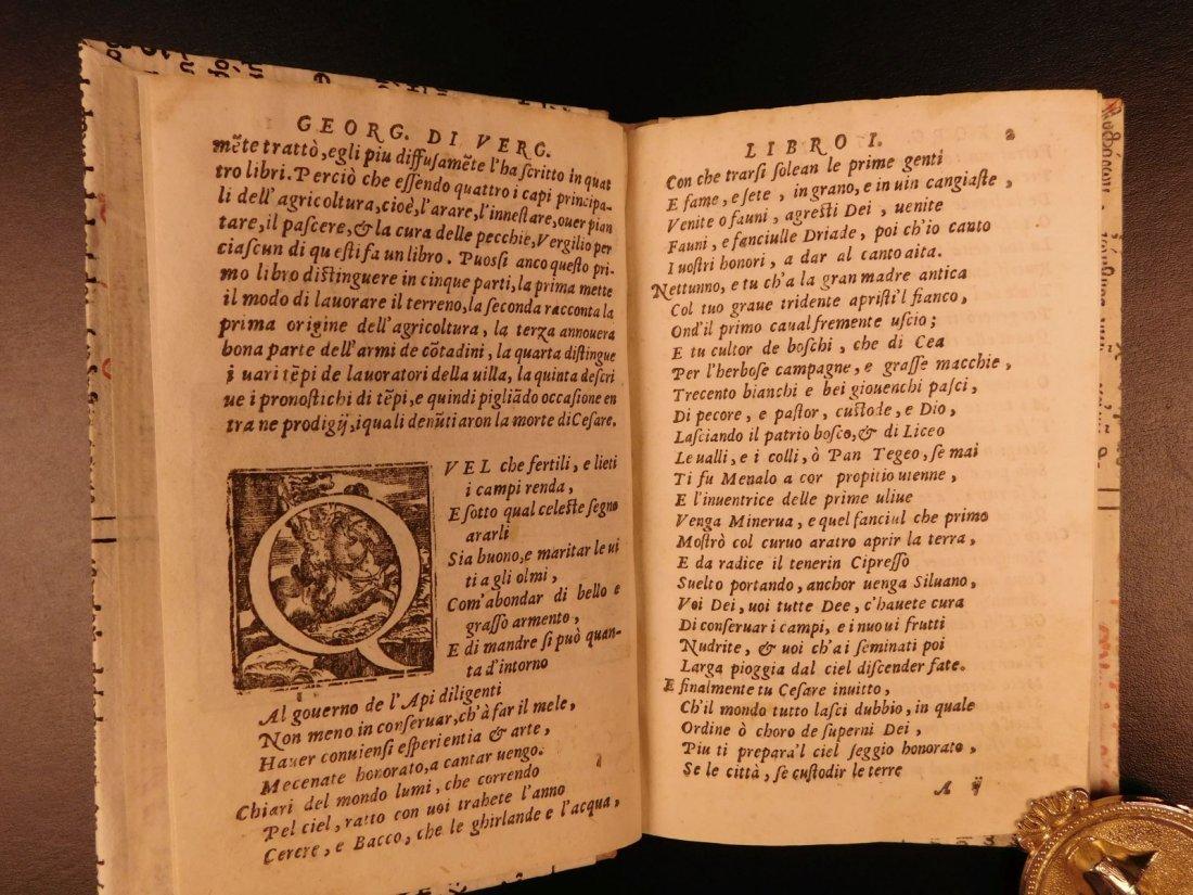 1562 VIRGIL Georgics Mythology Pastoral Poems Latin - 5