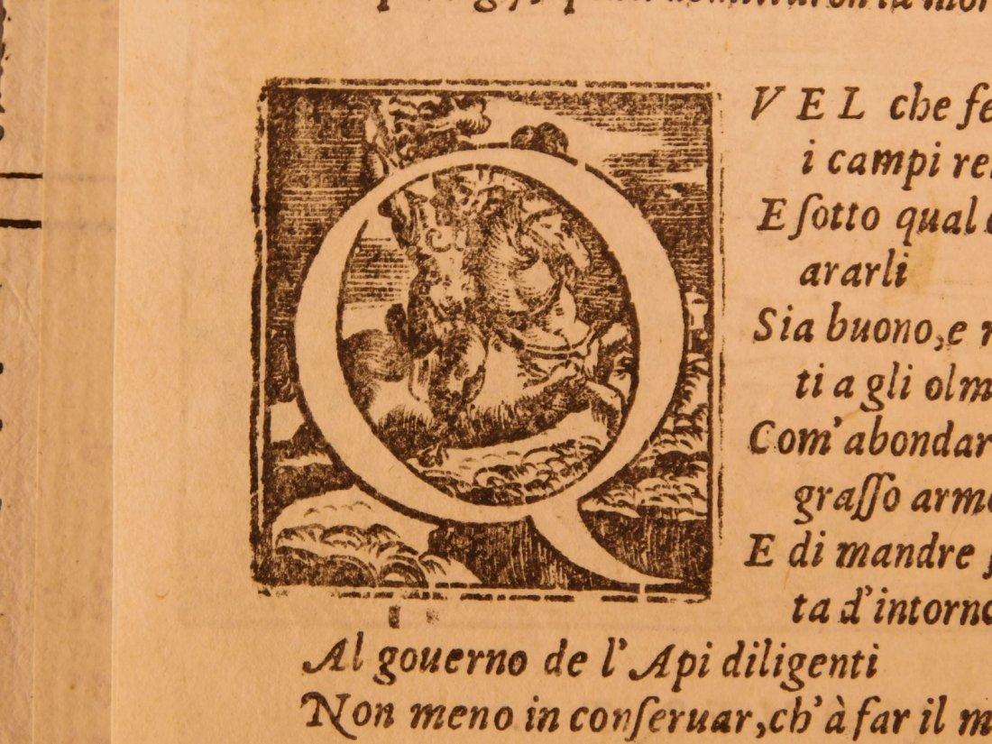 1562 VIRGIL Georgics Mythology Pastoral Poems Latin - 6