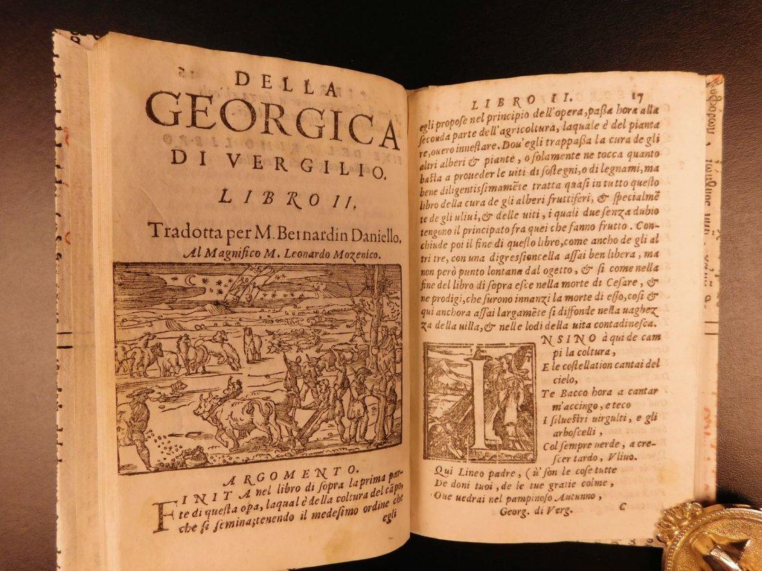 1562 VIRGIL Georgics Mythology Pastoral Poems Latin - 7