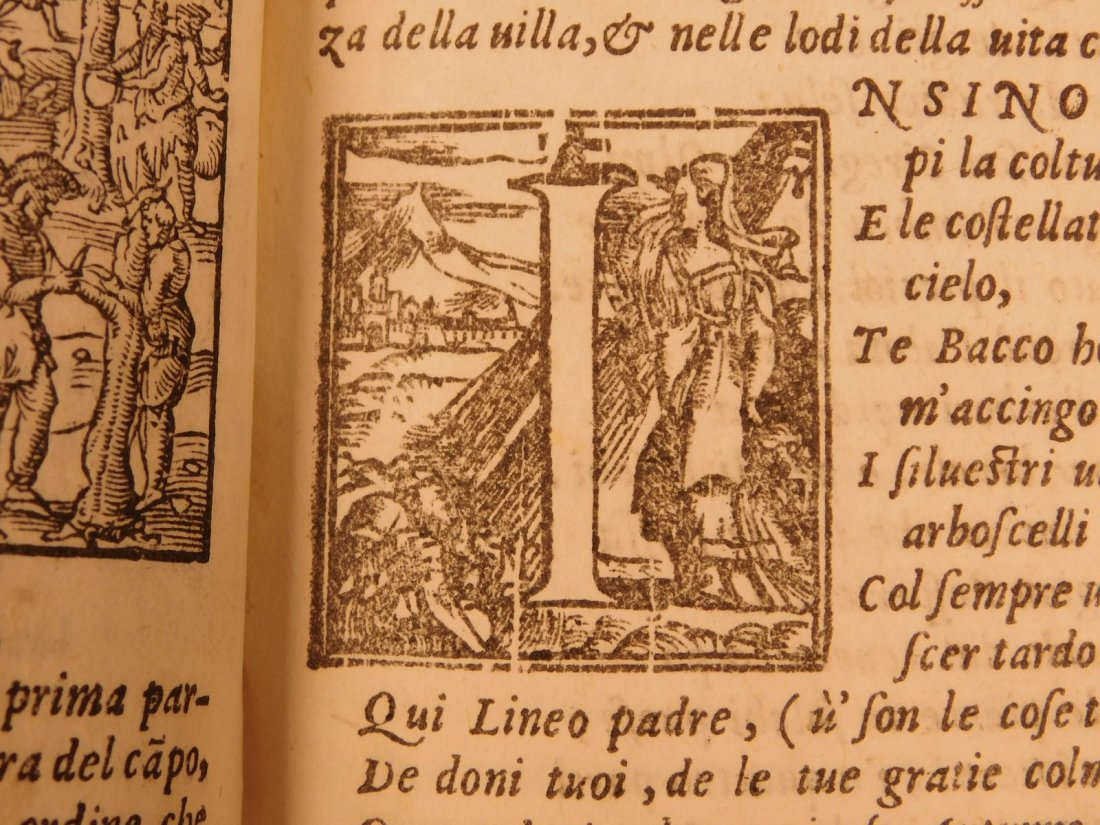 1562 VIRGIL Georgics Mythology Pastoral Poems Latin - 8